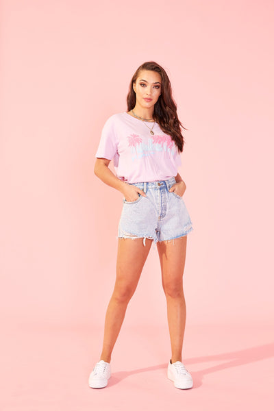 Mink Pink Vice Tee - Lilac