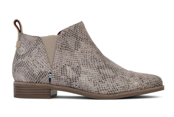 Toms Reese Booties - Snake