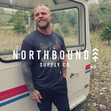 Northbound Rooted in Wilderness Tee - Charcoal