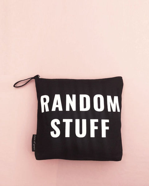 Random Stuff Zip Bag - Large