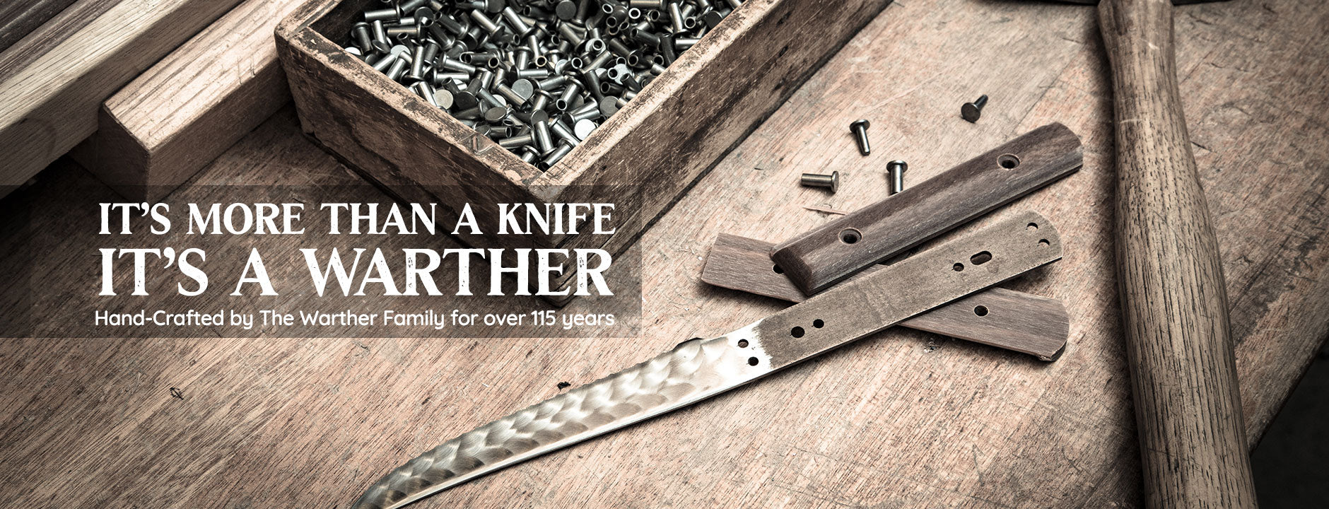 Warther Cutlery Hand Crafted Hand Made Kitchen Chef Knives