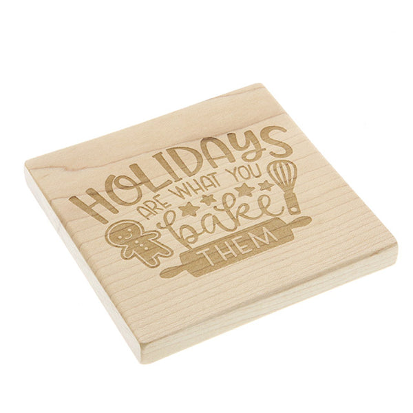 Christmas Coasters - Various Designs