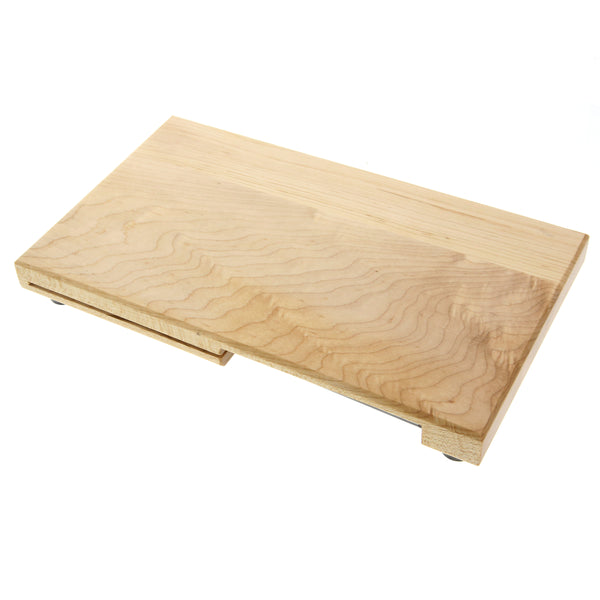 "Cutting Board w/ 3"" Paring and 5"" Sandwich Knife"