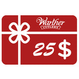 Warther Cutlery $25 Gift Card