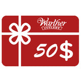 Warther Cutlery $50 Gift Card