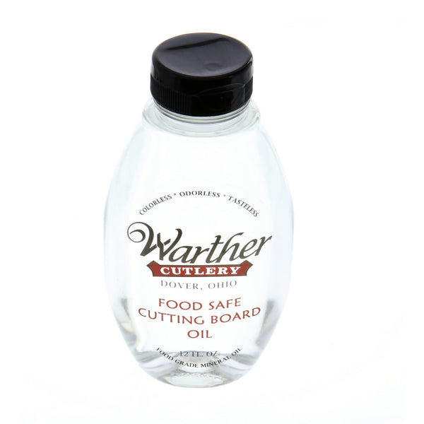 Cutting Board Oil - Warther Cutlery