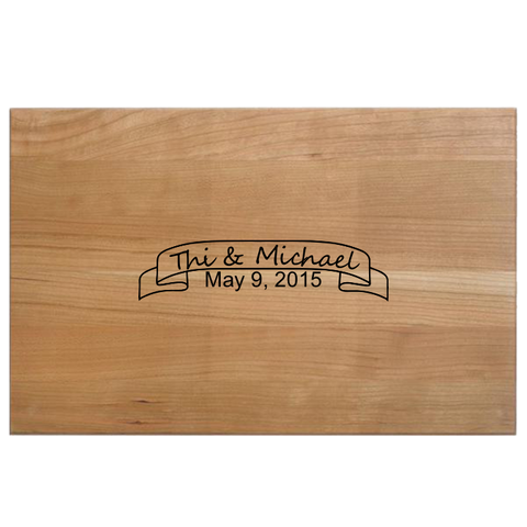 Custom Engraved - Chef Set Cutting Board