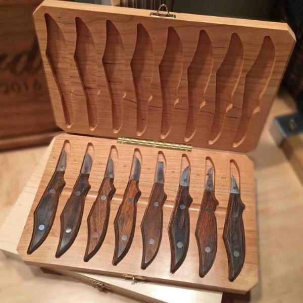 1932 Wood Carving Knife Set - Warther Cutlery