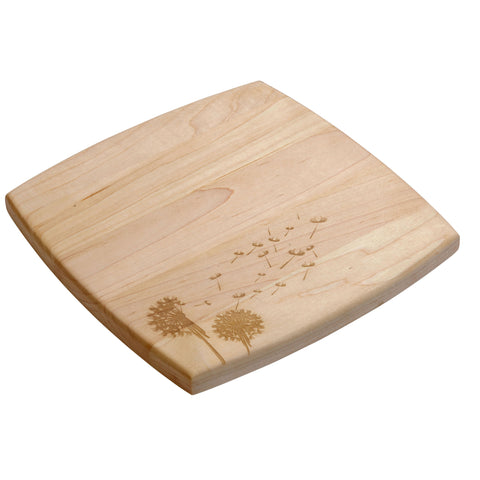 "Decorative 9"" X 9"" Cutting Board"
