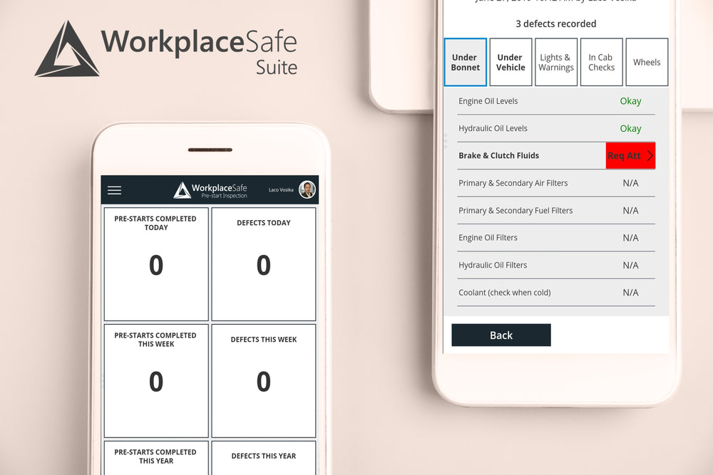 WorkplaceSafe | Pre-start Inspection