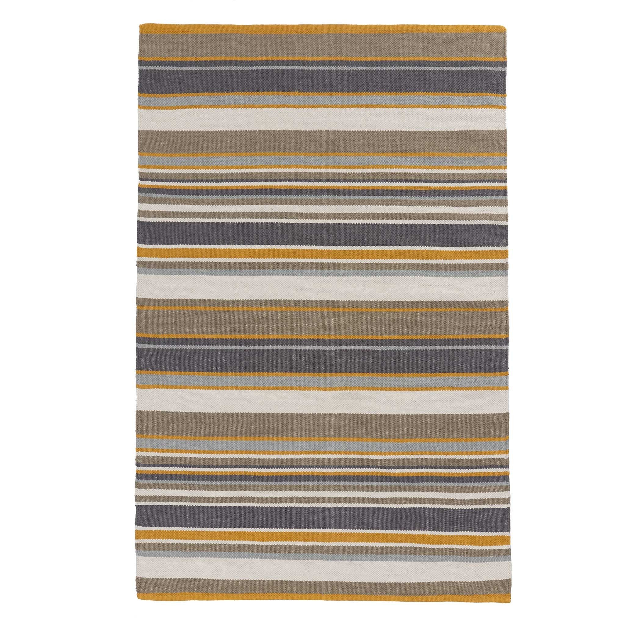 Mandana Rug in dark grey & olive green & mustard | Home & Living inspiration | URBANARA