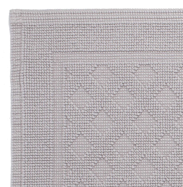Osuna bath mat, light grey, 100% cotton |High quality homewares
