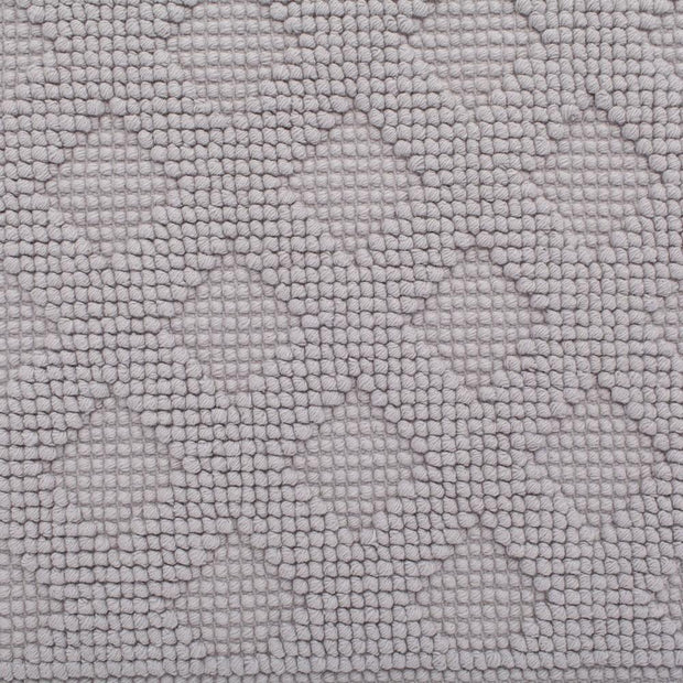 Osuna bath mat in light grey, 100% cotton |Find the perfect bath mats