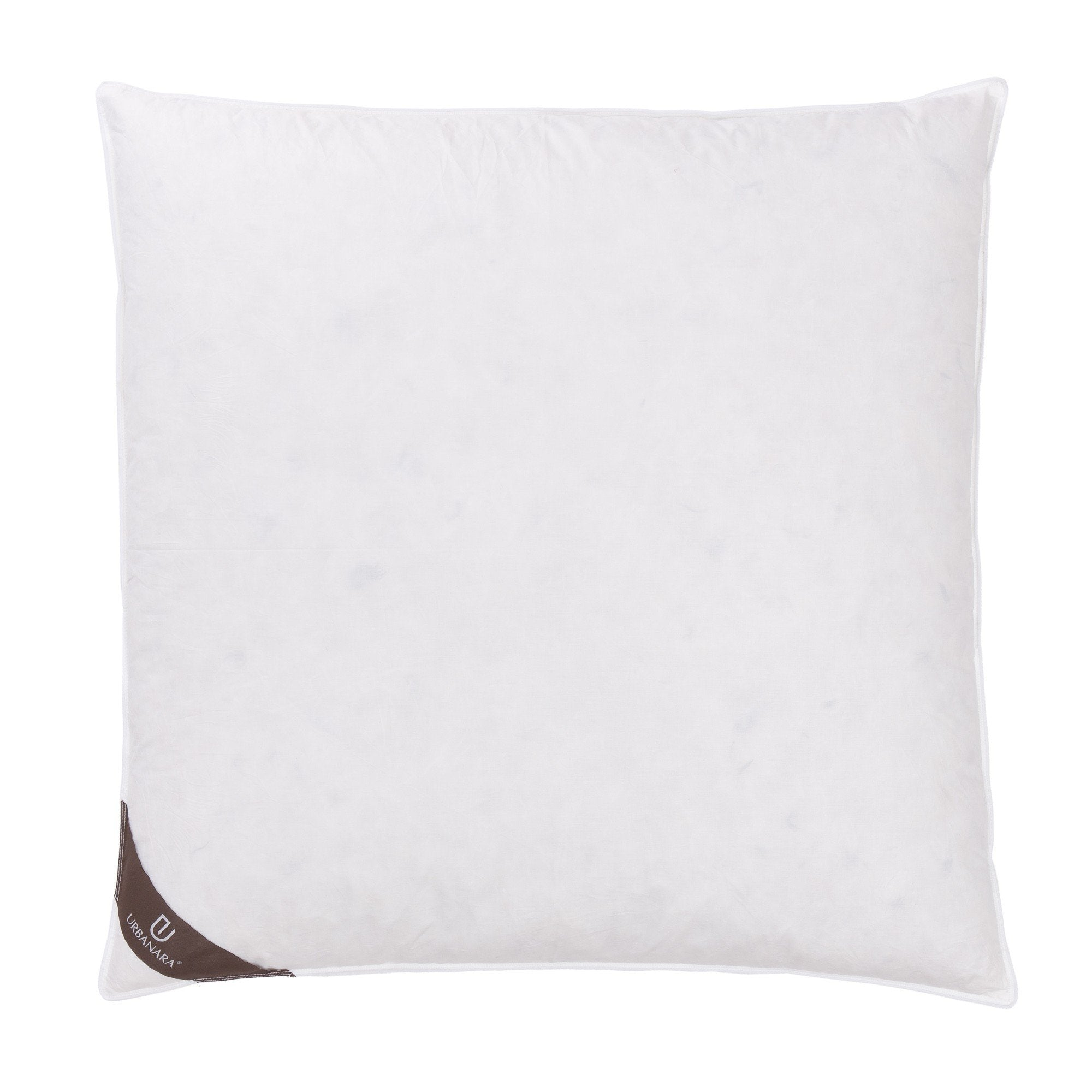 Trige pillow, white, 80% goose feathers & 20% goose down & 100% cotton