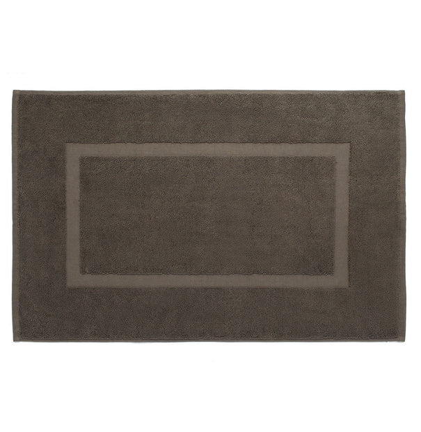 Penela bath mat, grey brown, 100% egyptian cotton