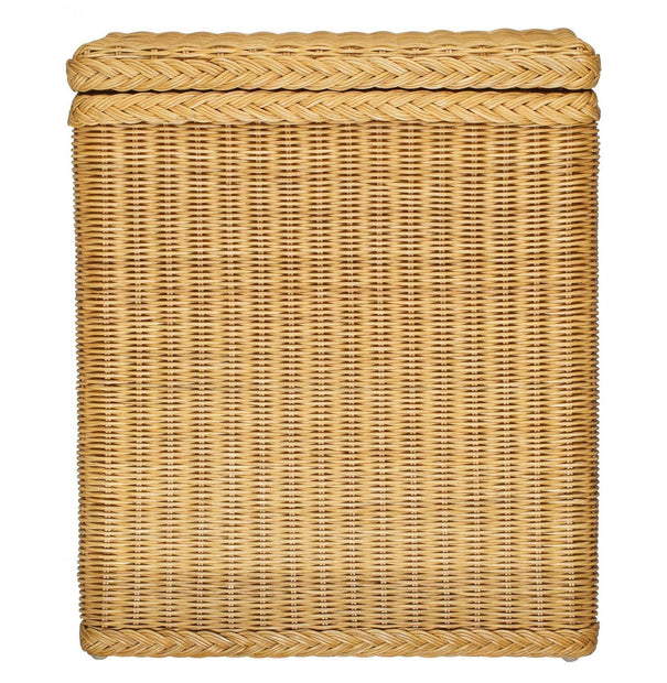 Java laundry basket, honey, 100% rattan & 100% cotton