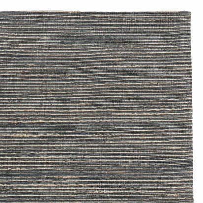 Sanali Rug green grey & light green grey & natural, 90% jute & 10% cotton