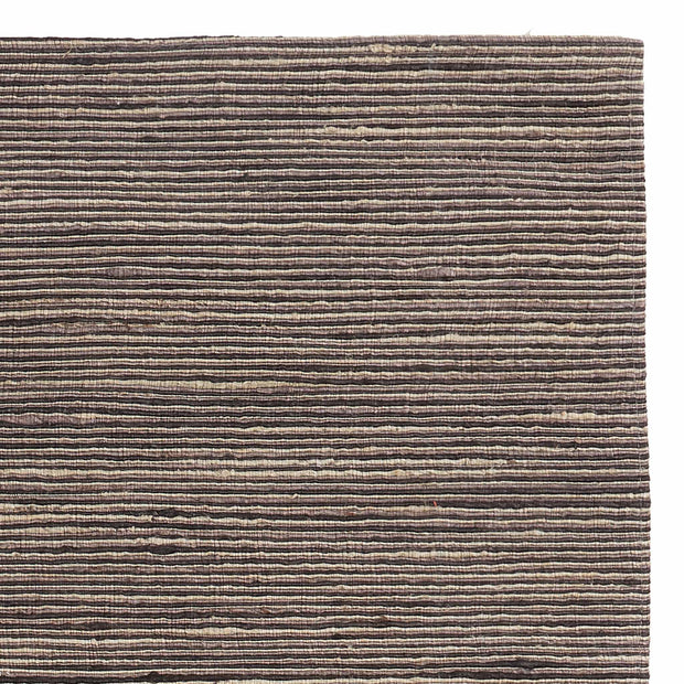 Sanali Rug natural white & stone grey & charcoal, 90% jute & 10% cotton
