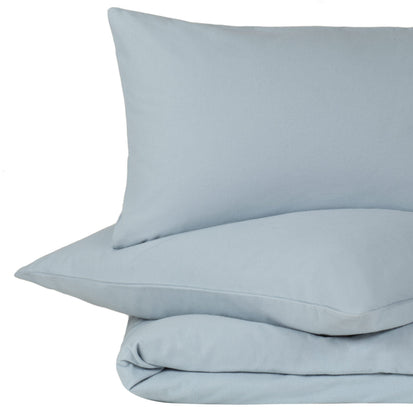 Montrose duvet cover, light blue, 100% cotton