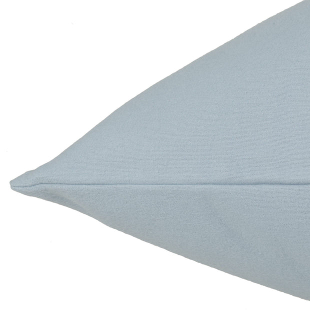 Montrose pillowcase, light blue, 100% cotton | URBANARA flannel bedding