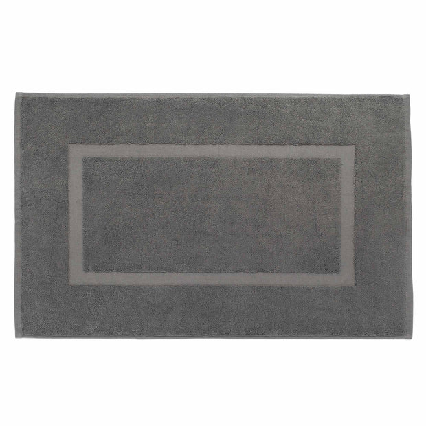 Penela bath mat, platinum grey, 100% egyptian cotton