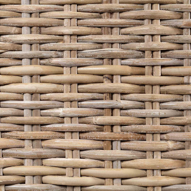 Java trunk, grey brown, 100% rattan & 100% cotton |High quality homewares