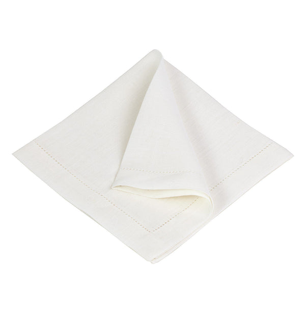 Cavaillon table cloth, white, 100% linen |High quality homewares