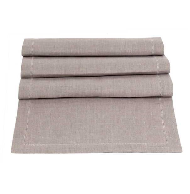 Cavaillon table runner, natural, 100% linen