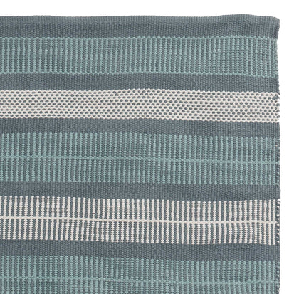 Vandani Rug green grey & light green grey & off-white, 100% cotton