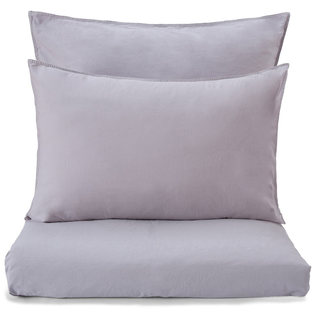 Luz duvet cover, light grey, 100% cotton