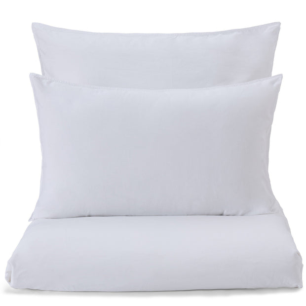 Luz duvet cover, white, 100% cotton