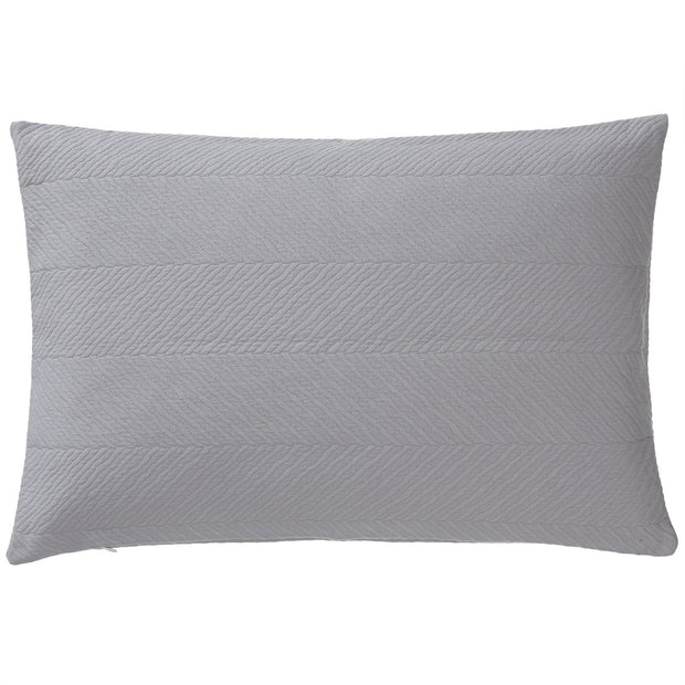 Cieza quilt, grey, 100% cotton |High quality homewares