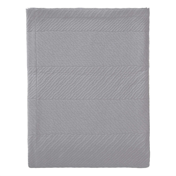 Cieza quilt, grey, 100% cotton