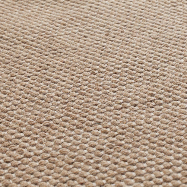 Kolong rug, sand & off-white, 100% new wool |High quality homewares