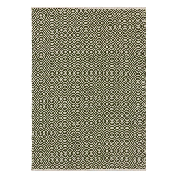 Olive green & Off-white Tenali Teppich | Home & Living inspiration | URBANARA