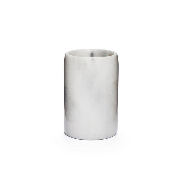 Sagara toothbrush holder, white, 100% marble