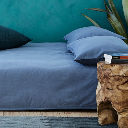 Blue Luz Bettdeckenbezug | Home & Living inspiration | URBANARA