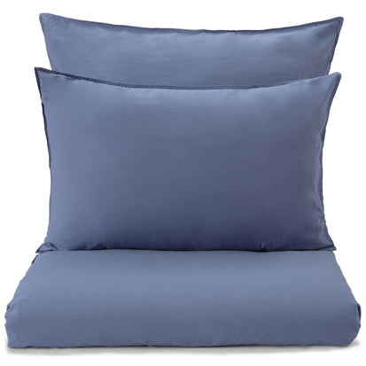 Luz duvet cover, blue, 100% cotton