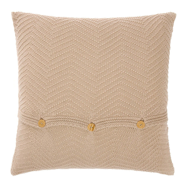 Falesia cushion cover, beige, 100% cotton | URBANARA cushion covers