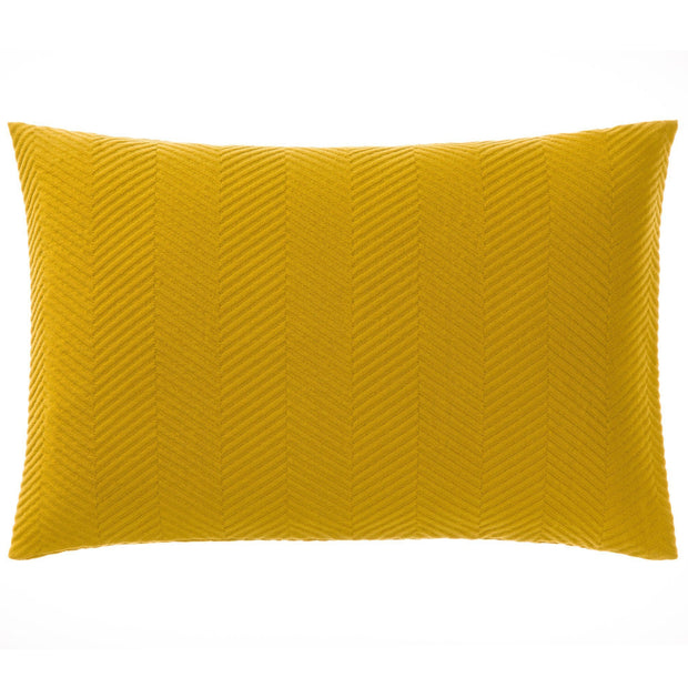 Lixa bedspread in mustard, 100% cotton |Find the perfect bedspreads & quilts