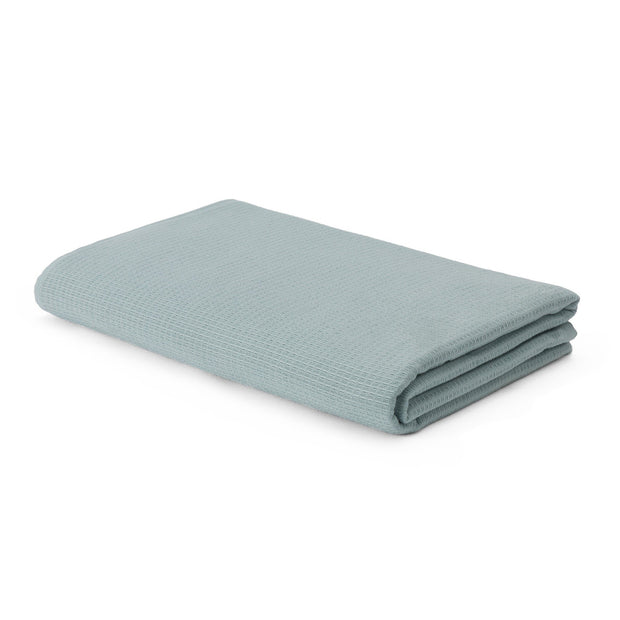 Sintra hand towel, light grey green, 100% cotton | URBANARA cotton towels