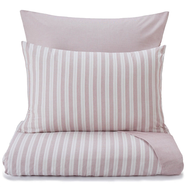 Izeda pillowcase, dark red & white, 100% cotton