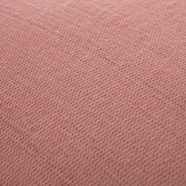 Alkas cushion, dusty pink & stone grey, 50% linen & 50% cotton |High quality homewares