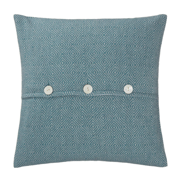 Uyuni cushion cover, green grey & light grey, 100% cashmere wool | URBANARA cushion covers