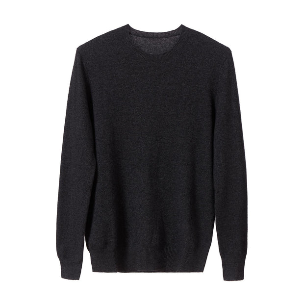 Nora jumper, charcoal, 50% cashmere wool & 50% wool