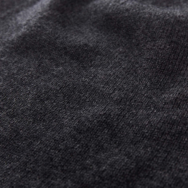 Nora jumper, charcoal, 50% cashmere wool & 50% wool |High quality homewares