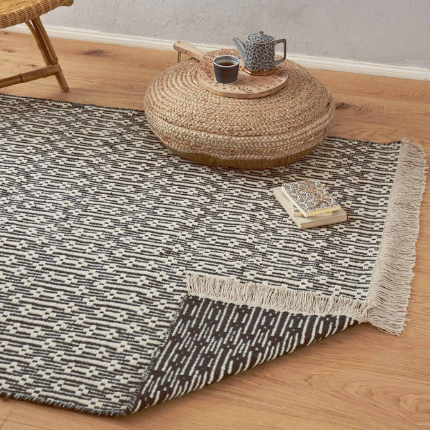 Lumaco Rug [Charcoal/Off-white]