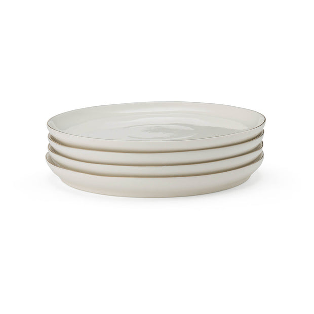 Richmond plate, white & gold, 100% porcelain |High quality homewares