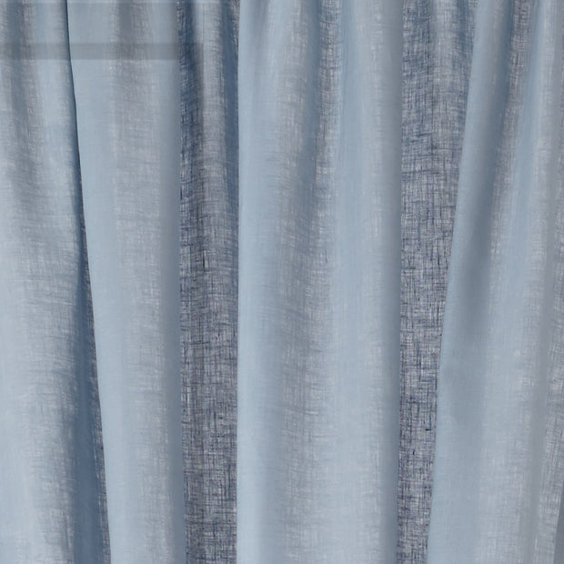 Fana curtain, light blue, 100% linen | URBANARA curtains
