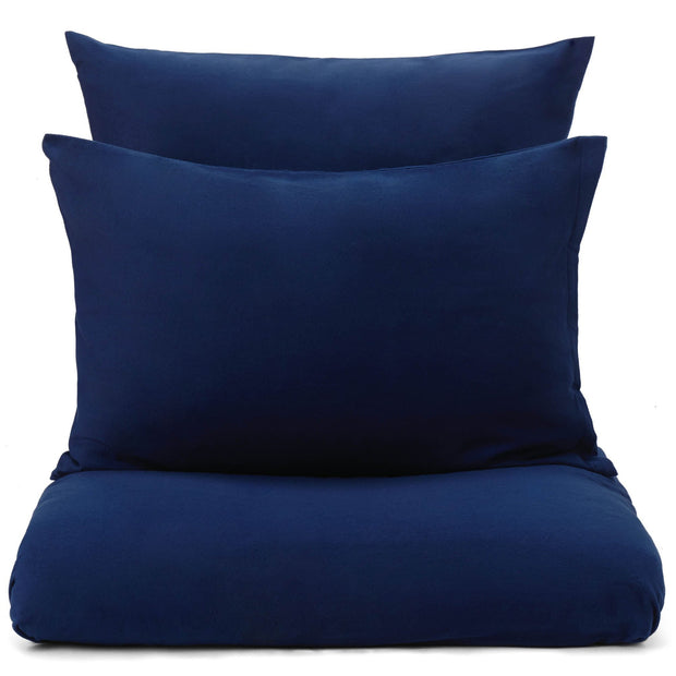 Montrose pillowcase, dark blue, 100% cotton